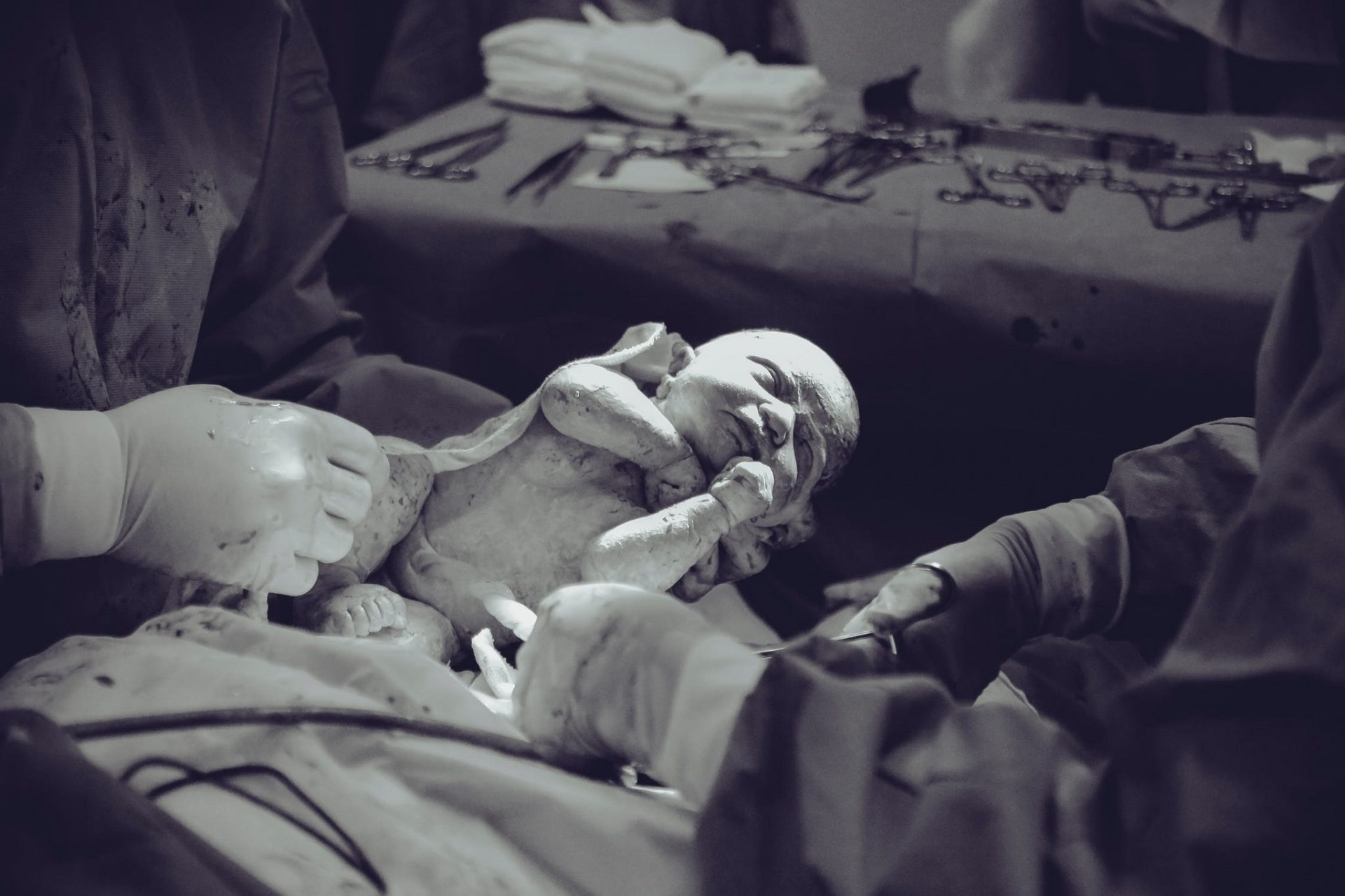 Unsere gemeinsame Geburtsfotografie in Köln